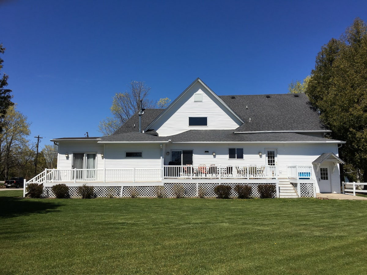 Maple Manor Vacation Rental In Sister Bay Wisconsin